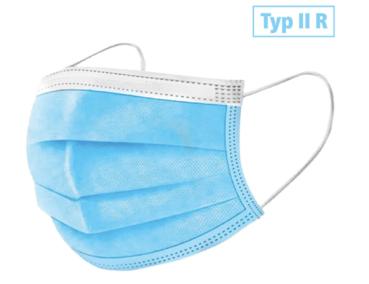 Face mask Typ IIR blue - 50 pcs.