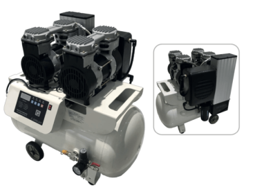 Compressor for 3 dental unit
